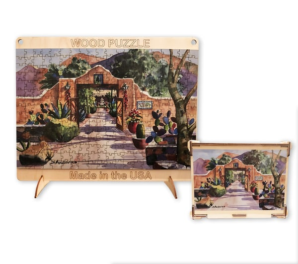 Hacienda Gate II |  Puzzle