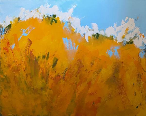 Waving Fields Of Grain (Original) Art | Jen Sterling LLC