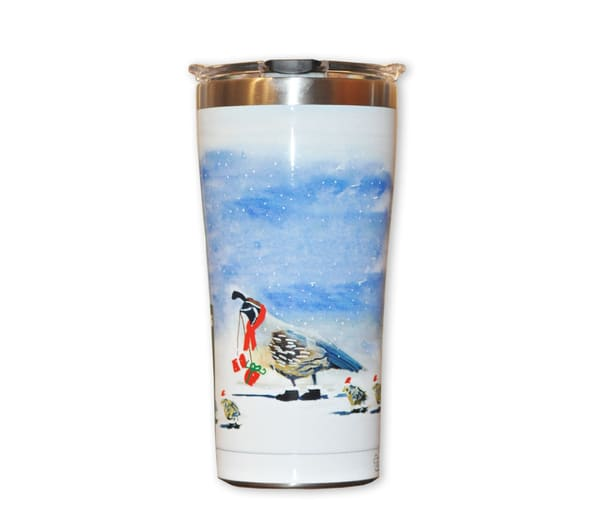 To Grandmother's House We Go Stainless Steel Tumbler | Madaras Gallery