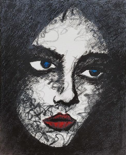 Gothic Beauty Art   CincyArtwork Originals