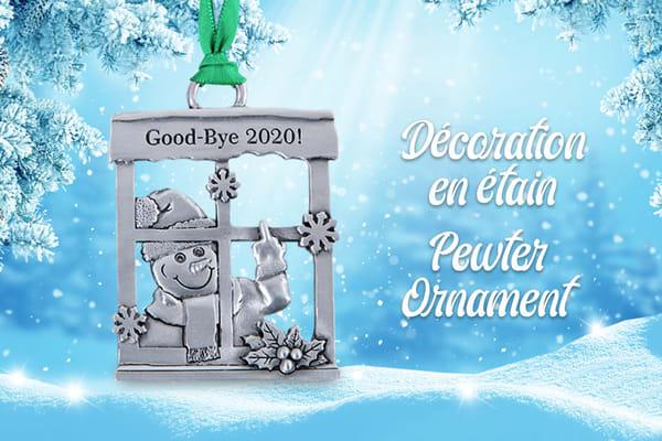 Good-Bye 2020! Ornament