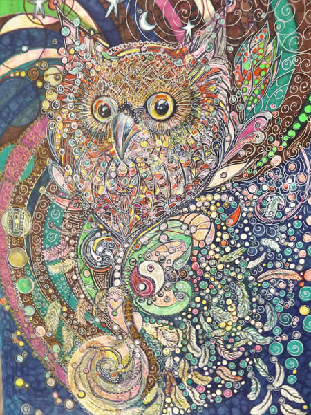 Owl's Perch Art   Cynthia Christensen Art