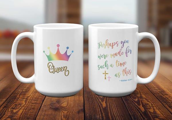 Esther 4:14 Bible Verse Mug