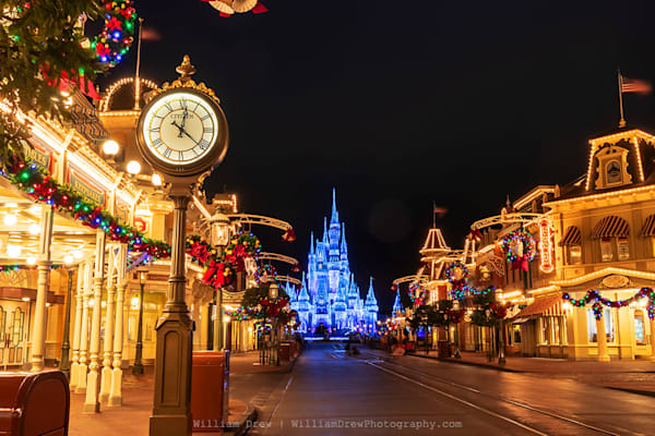 Timeless At Disney's Magic Kingdom   Disney Wall Mural Photography Art | William Drew Photography