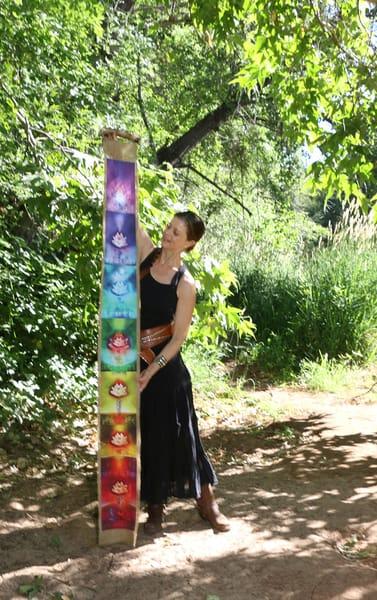 Chakra Banners | Big Vision Art + Design