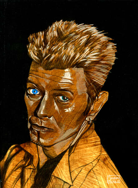 David Bowie: Earthling Art | Omaha Perez Art