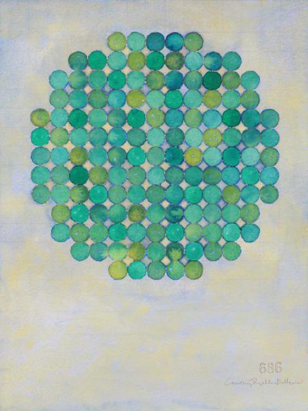 Green On Green I Art | Courtney Miller Bellairs Artist