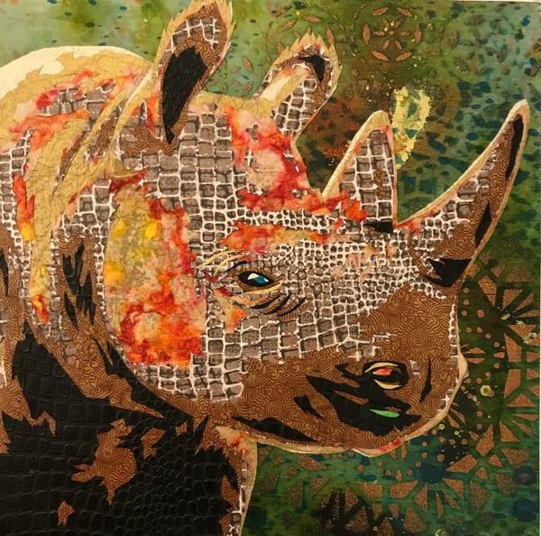 Rhino  Art   Kristi Abbott Gallery & Studio