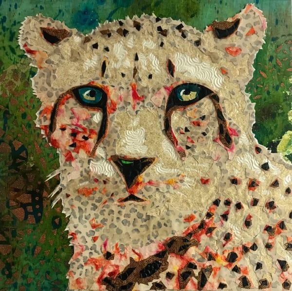Cheetah Art   Kristi Abbott Gallery & Studio