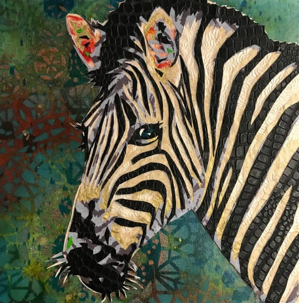 Zebra Art   Kristi Abbott Gallery & Studio