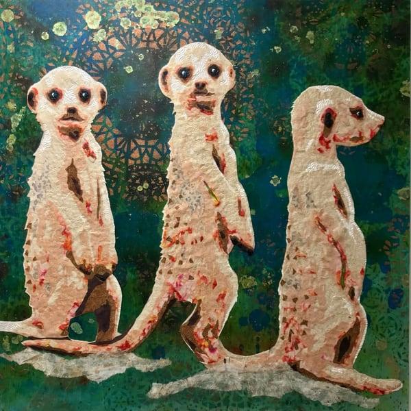 Meerkats  Art   Kristi Abbott Gallery & Studio