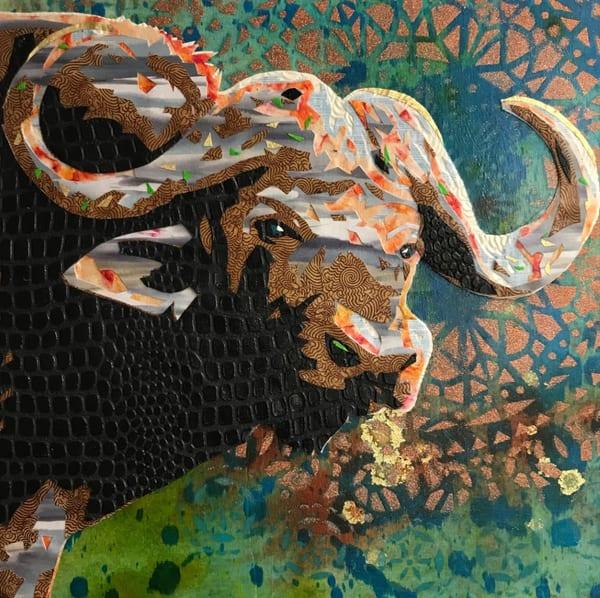 African Cape Buffalo Art   Kristi Abbott Gallery & Studio