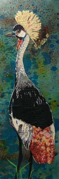 Grey Crowned Crane Art   Kristi Abbott Gallery & Studio