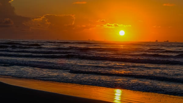 Sunset Waves Art | Thriving Creatively Productions