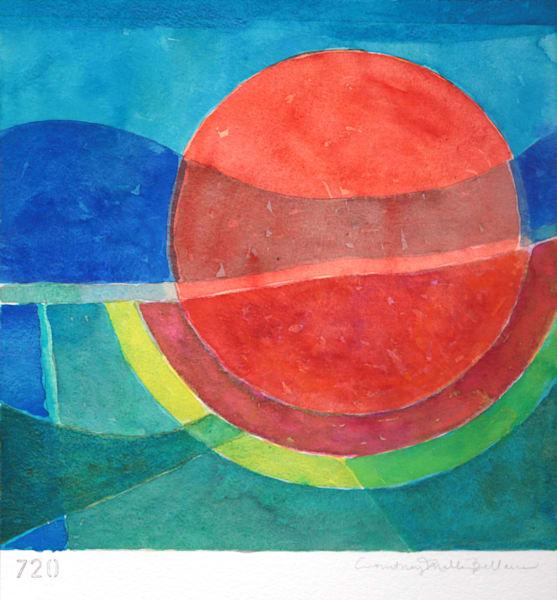 Sunset Art | Courtney Miller Bellairs Artist