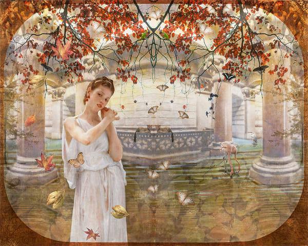Puella In Paradise After Bouguereau Art | Sondra Wampler | fine art