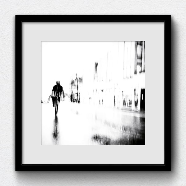 Bikes Cycle nº20 (2018) - printed, signed and framed by the artist