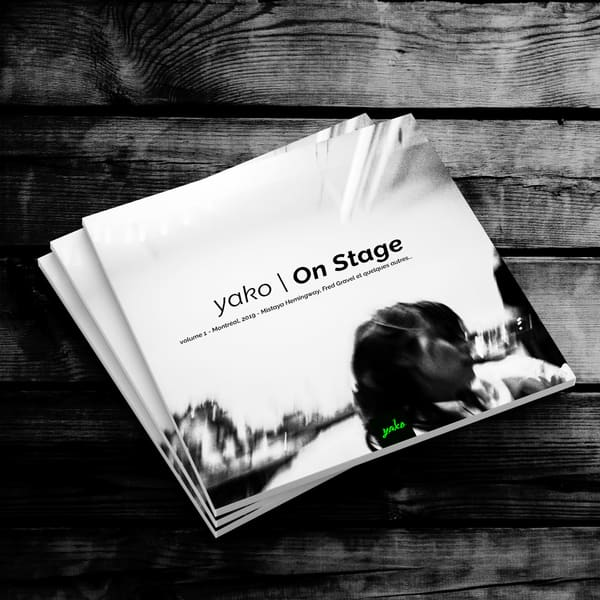 yako | On Stage - Dance, moves, motion and blur.