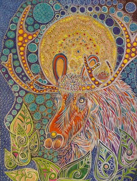 Moose & Moon Art   Cynthia Christensen Art