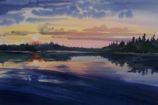 Reindeer Lake, Saskatchewan | Jan Thoreen Lewis Fine Art