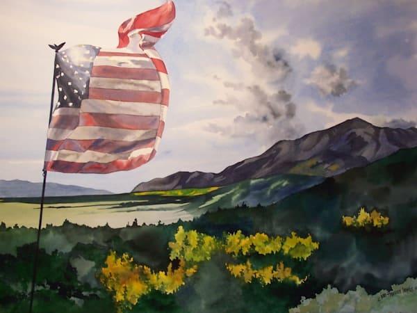 Purple Mountains' Majesty | Jan Thoreen Lewis Fine Art