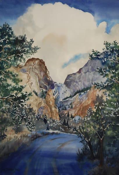 Deer Valley Winter | Jan Thoreen Lewis Fine Art