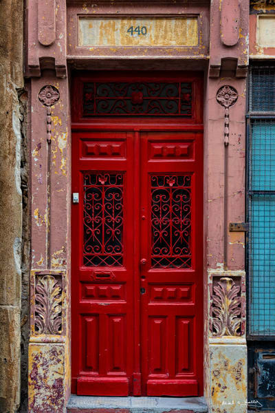 art, fine art, photography, architecture, old world,  contemporary, porto, door, red, colorful, bold, photography