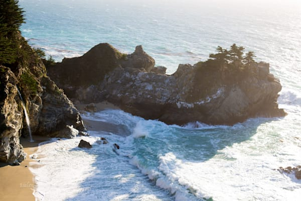 McWay Waterfall at Julia Pfeiffer Burns state part, Big Sur, California by Amy Hart, fine art and landscape photography