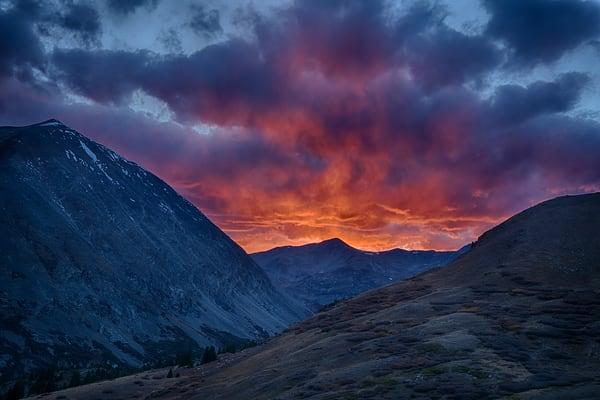 Sunset In The Mosquito Range Photography Art | Nicholas Jensen Photography