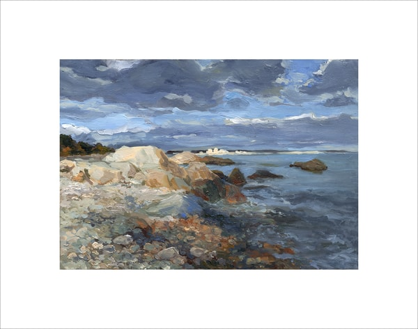 Rocky Beach 017, limited edition print by Kim Gatesman