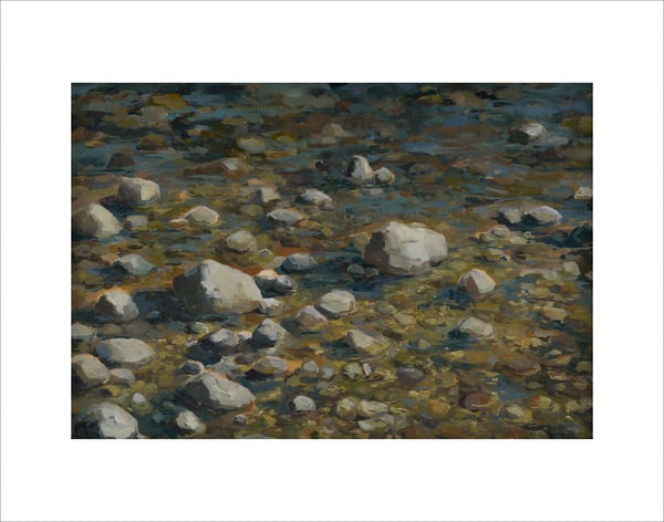 Rocky Beach 014, limited edition print by Kim Gatesman