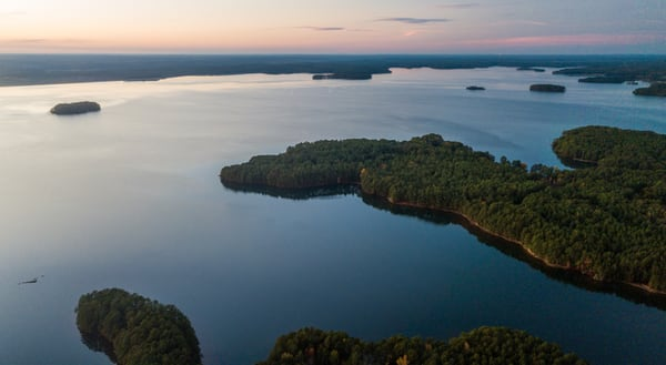 Carolina Lake Side Views Photography Art | Austin Marvel