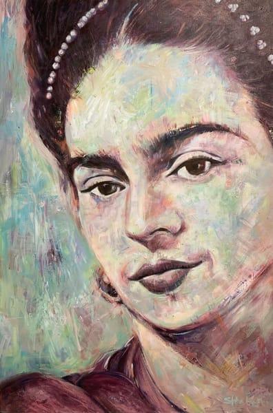 Frida Kahlo Iii Art | Atelier Steph Fonteyn