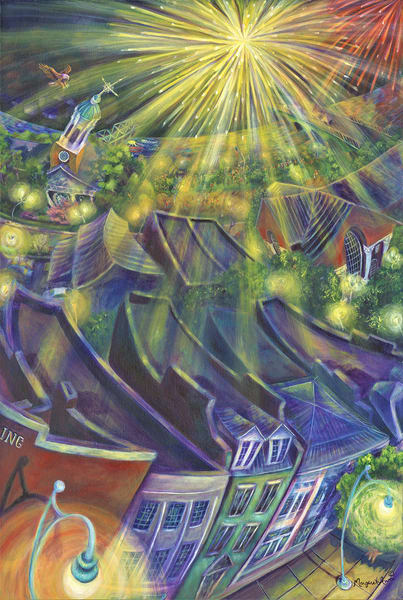 Grand Finale Over The River Art   Digital Arts Studio / Fine Art Marketplace