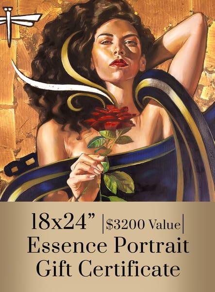 Essence Portrati 18x24 Art   Big Vision Art + Design
