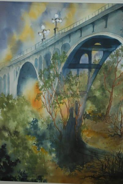 Old Pasadena Bridge | Jan Thoreen Lewis Fine Art