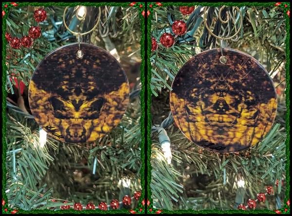 Ceramic Ornament_Mirror 1098 + Mirror 1099