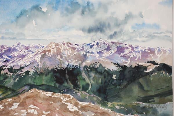 View From Mt. Elbert | Jan Thoreen Lewis Fine Art