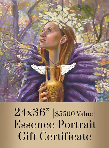 Essence Portrait Gift Certificate 24x36 | Big Vision Art + Design