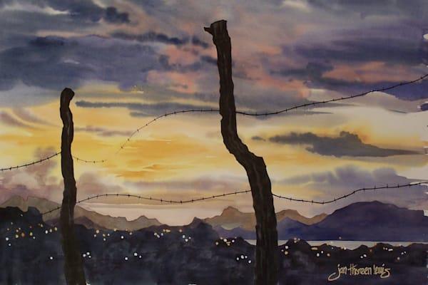 Mexican Sunset | Jan Thoreen Lewis Fine Art