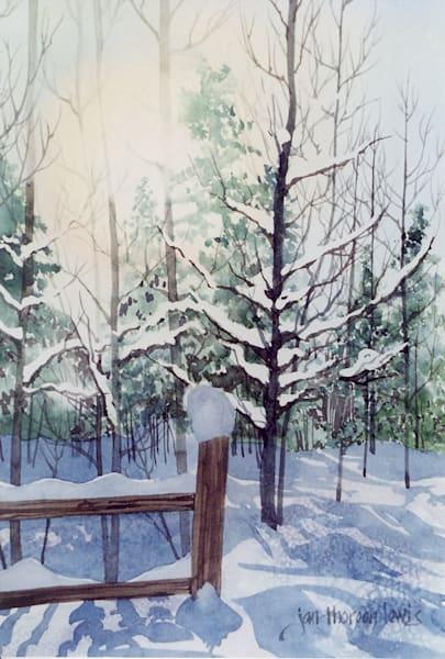 Winter Glow | Jan Thoreen Lewis Fine Art