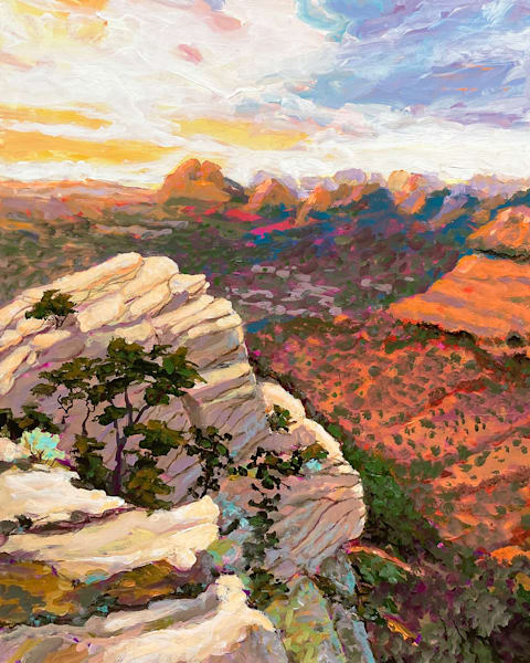 A View In Sedona Art | Charles Wallis