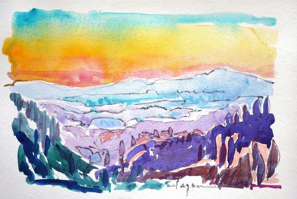 Florence Sunset | Dorothy Fagan Joy's Garden