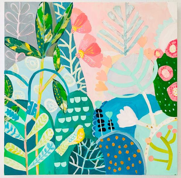 Plant Pattern Art   demiandolive