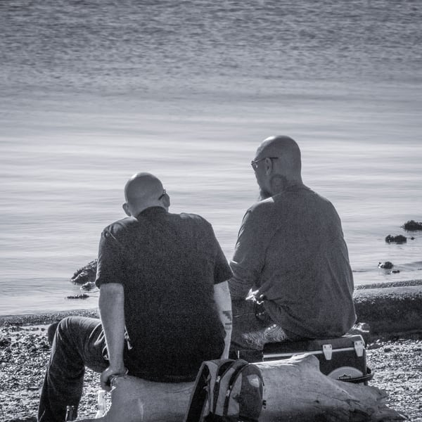 Fishing Buddies Photography Art | Ron Olcott Photography