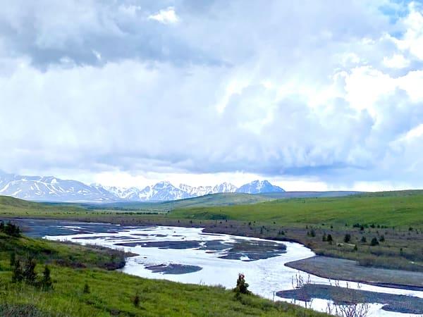 Peaceful Scene~Denali National Park Photography Art   Visionary Adventures, LLC