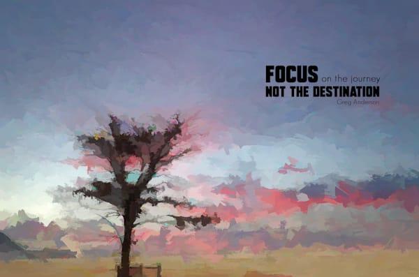 Focus On The Journey Art | R.j.Ricci Art