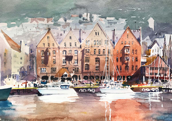 Nw Bergen Norway 1 Art | Steven Dragan Fine Art