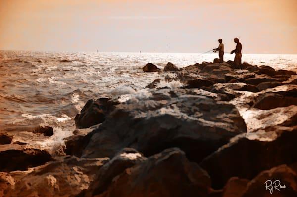 Fishing In Florida Art | R.j.Ricci Art