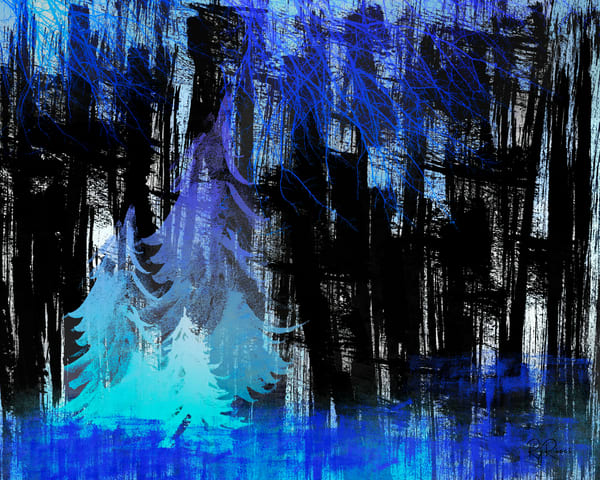 Magical Trees Art | R.j.Ricci Art